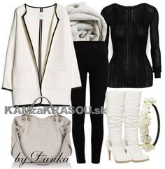 Black and White - KAMzaKRÁSOU.sk #kamzakrasou #sexi #love #jeans #clothes #coat #shoes #fashion #style #outfit #heels #bags #treasure #blouses #dress