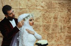 Cute and Romantic Muslim Wedding Wedding Couples, Cute Couples, Photography Photos, Wedding Photography, Videos Photos, Romance, Cute Couple Pictures, Poses, Modest Outfits