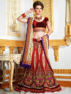 Lehenga choli is perfect outfit for any Indian traditional celebrations. We have an amazing range of traditional and Fancy lehenga choli with reasonable prices. For more : http://www.high5store.com/lehenga-choli
