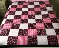 Hearts and Love Quilt by LoveErinMarie on Etsy
