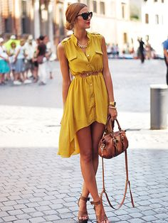 Roman Summer Street Fashion; Image Via Roman Blogger Andrea Gomez Made with Fashion