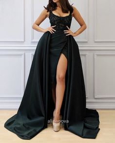 Elegant Long Black Prom Dresses 2021 Split Evening Gown Fitted Prom Dresses, Prom Girl Dresses, Elegant Bridesmaid Dresses, Affordable Prom Dresses, V Neck Prom Dresses, Black Prom Dresses, Homecoming Dresses, Dresses Near Me, Mermaid Evening Gown