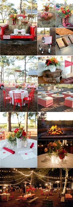 Throw a Beloved Barbecue Wedding Bash. #weddings #barbecue
