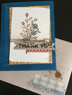 Touches of Texture, Stampin Up