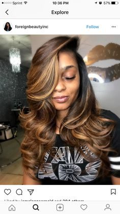 Hair Color I want My Hairstyle, Wig Hairstyles, Love Hair, Gorgeous Hair, Pelo Chocolate, Blond, Curly Hair Styles, Natural Hair Styles, Hair Laid