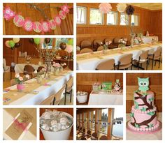 "Photo 1 of 16: Owl / Baby Shower/Sip & See ""Owl Baby Shower"" 