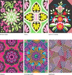 patternprints journal: BRIGHT AND COLORFUL PATTERNS INTO DELICIOUS ARTWORKS BY HANNA WERNING