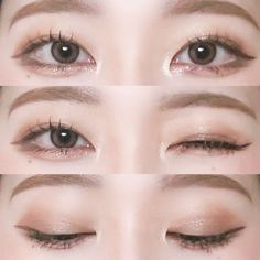 Even if you are careful, you will get hair color stains aro. Even if you are careful, you will get hair color stains around the side of you - Korean Makeup Look, Korean Makeup Tips, Asian Eye Makeup, Korean Makeup Tutorials, Korean Makeup Ulzzang, Ulzzang Makeup Tutorial, Asian Make Up, Korean Make Up, Eye Make Up