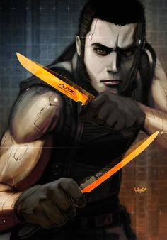 -- O Range Knives -- by *wyv1 on deviantART