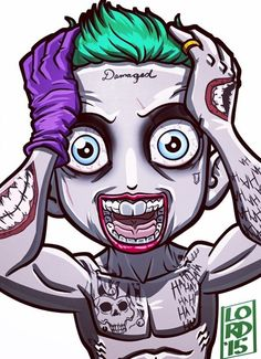 Jared Leto's Joker - Lord Mesa Art