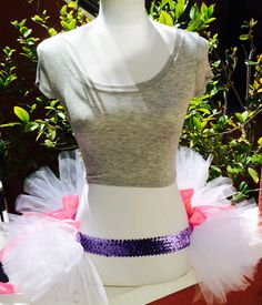 Adult Daisy Duck Themed Half Tutu by ShellyRioBoutique on Etsy