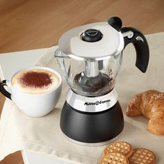 Mukka Cappucino Maker, now featured on Fab. Cottage Homes, Make It Simple, Coffee Maker, Kitchen Appliances, Easy, Spaces, Design, Coffee Maker Machine, Diy Kitchen Appliances