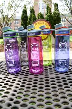 CMU Camelbak Water Bottles in 5 colors!