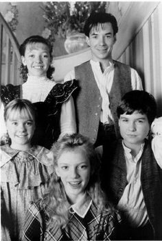 Felicity, Gus, Cecily, Felix, and Sarah, Road to Avonlea