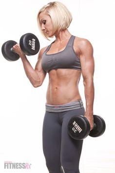TONING WITHOUT THE BULK - Weight Training Won't Make You Big! |FitnessRx