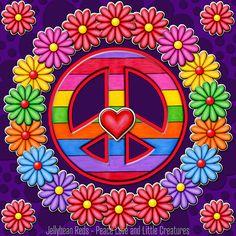 Power of Peace Hippie Peace, Happy Hippie, Hippie Love, Peace Love Happiness, Peace And Love, Flower Power, Peace Sign Art, Peace Signs, Adobe Illustrator