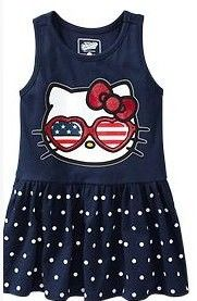 Hello Kitty girls dress/Summer fashion baby dress/Children cartoon clothing-in Dresses from Apparel & Accessories on Aliexpress.com