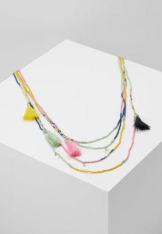 Pieces PCIRINA LONG NECKLACE BEACH - Naszyjnik - multi-coloured - Zalando.pl Jewelery, Beach, Color, Neck Chain, Jewlery, Colour, Jewels, The Beach, Colors