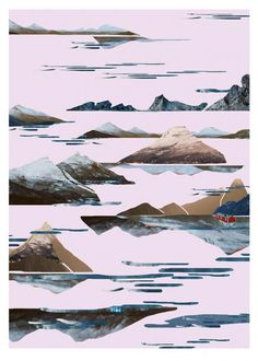 Fjord - wall-being Warsaw Poland, Fjord, Conceptual Photography, Collage Artists, Digital Prints, Fighter Jets, Graphic Design, Drawings, Illustration
