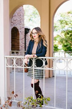 A Preppy Fall Outfit   M Loves M