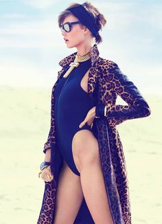 Karlie Kloss Gets Wild for Vogue Turkey June 2013 Cover - Fashion Gone Rogue: The Latest in Editorials and Campaigns