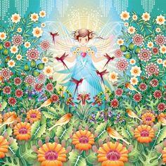 Catalina Estrada mural wallpaper Jardim Princesa