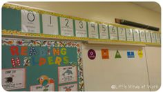 FREEBIE number path of movement posters!