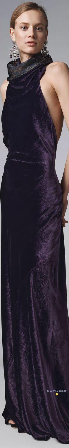 Velvet Lounge, Ralph Lauren Collection, Carolina Herrera, Violet, Business Women, Editorial Fashion, Lavender, Designers, Passion