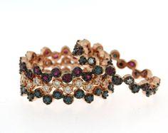 Anelli con Diamanti I Colori dell'amore by #ManettiFirenze