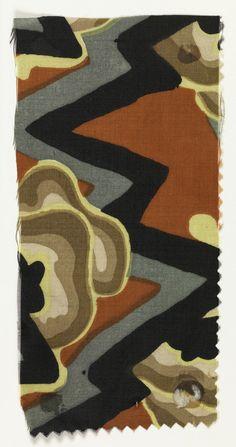 Abstract landscape. Wiener Werkstätte (Designer)