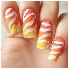 Zebra nails!