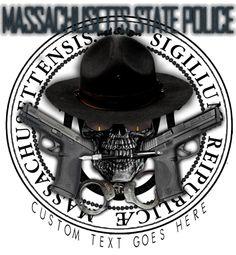 Massachusetts State Police Shirt $19.95