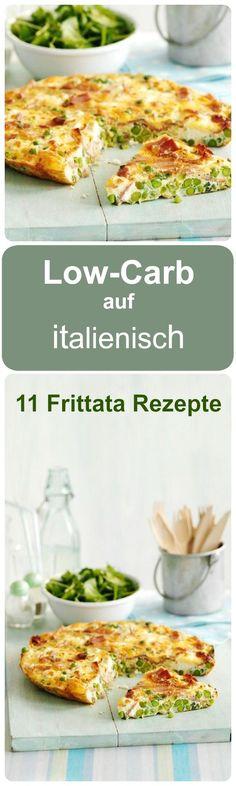 Garantiert ohne Zucker: unsere 11 Low-Carb Frittata Rezepte. Die schmecken einfach himmlisch!
