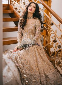 Pakistani Wedding Outfits, Wedding Dresses For Girls, Pakistani Bridal, Bridal Dresses, Girls Dresses, Bridal Outfits, Pakistani Frocks, Pakistani Dresses, Indian Dresses