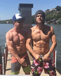 Jared Padalecki, Stephen Amell Go Shirtless For Depression Campaign - Us Weekly