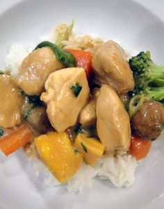 Thai Stir-Fry Chicken-ready in 20 minutes