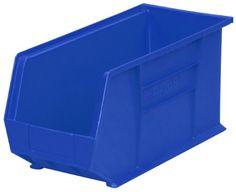 Akro-Mils 30265 Plastic Storage Stacking Hanging Akro Bin, 18-Inch by 8-Inch by 9-Inch, Blue, Case of 6 Akro-Mils http://www.amazon.com/dp/B0006OKHC6/ref=cm_sw_r_pi_dp_dXXMvb0XYMAKY