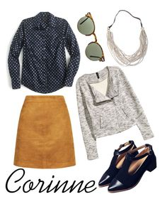 """For Corinne"" by beetlescarab ❤ liked on Polyvore featuring J.Crew, H&M, Spitfire, women's clothing, women's fashion, women, female, woman, misses and juniors"