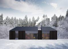 Maison préfabriquée scandinave