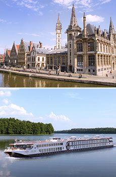 299 € -- Flussreisen nach Holland & Belgien im Herbst, -600€