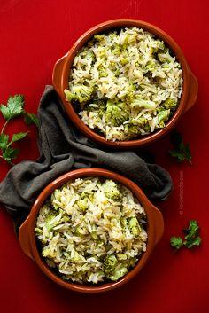 Broccoli Rice | #rice #broccoli #inexpensive #sidedish