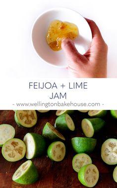 Fejoa Recipes, Guava Recipes, Allergy Free Recipes, Dessert Recipes, Cooking Recipes, Healthy Recipes, Recipies, Desserts, Pineapple Guava
