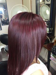 Loving my new hair colour Pelo Color Vino, Red Hair Looks, Mahogany Hair, Amber Hair, Wine Hair, Pelo Natural, Haircuts For Long Hair, Pinterest Hair, Red Hair Color