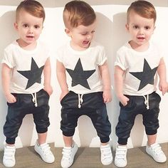 Aliexpress.com : Buy 2016 summer style baby boy clothes fashion ...