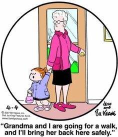 Yeppers....see, Im not the Only One thinking this way..... the Grandkids will surely get us home safely!!!