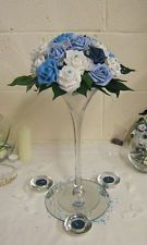 Stunning Wedding flowers guest table flowers centrepieces martini x 6 Table Flowers, Centre Pieces, Flower Centerpieces, My Flower, Martini, Wedding Flowers, Bridal Shower, Wedding Decorations, Woman