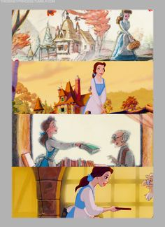 Woman Rule Wednesday Belle Beauty and the Beast Disney Fera Disney, Walt Disney, Disney Nerd, Disney Films, Disney And Dreamworks, Disney Love, Disney Magic, Disney Pixar, Disney Stuff