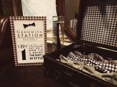 """""""Rat Pack"""" Little Gentleman Party {1st Birthday Ideas} ~ This sophisticated 1960?s Rat Pack gentleman themed party with whimsical features is perfect for a ..."""