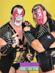 WWF World Tag Team Champions Demolition - Axe and Smash