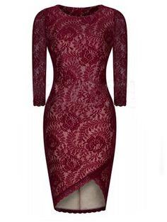Appealing Asymmetrical Hems With Zips  Bodycon-dress Bodycon Dresses from fashionmia.com
